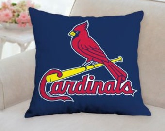 St Louis Cardinals Designer Pillow