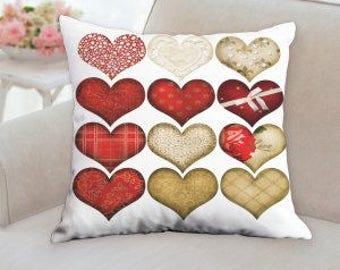 County Hearts Pillow