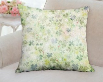 Shabby Chic St. Patrick's Day Pillow