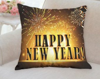 Happy New Years Pillow