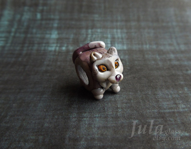 charm pandora loup