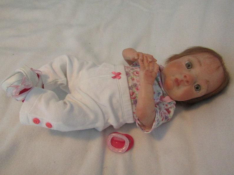 Preemie Fake Baby By Babies4U Nursery Realistic Lifelike 16 Awake Reborn Baby Girl