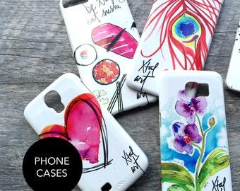 Phone Cases (iPhone, Samsung Galaxy Phone) - Pick a Design