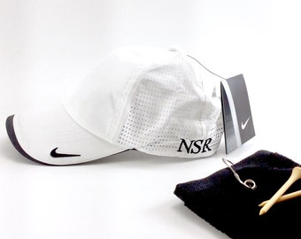 2d98ce5c Nike Golf Dri-FIT Swoosh Perforated Cap, Monogrammed Nike Hat, Monogrammed Golf  Hat