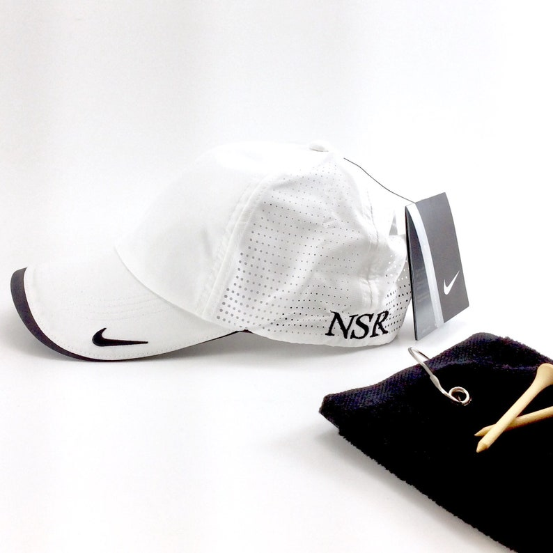 6005313a1dc Nike Golf Dri-FIT Swoosh Perforated Cap Monogrammed Nike