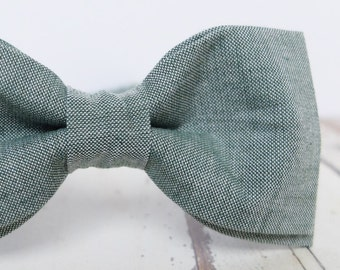 6dd9ab26e320 Olive Green Bow Tie for Men Greenery Bow Tie Mens Bow Tie Wedding  Accessories for Men Green Gray Bow Tie Gift for Men Nature Lover Gift