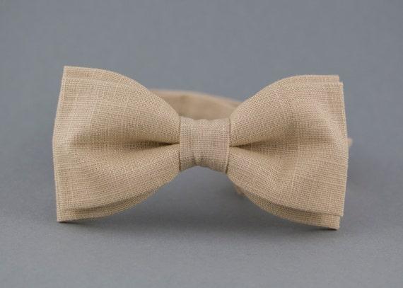 doux et léger style le plus récent dernière remise Ivoire noeud papillon pour noeud papillon mariage noeud | Etsy