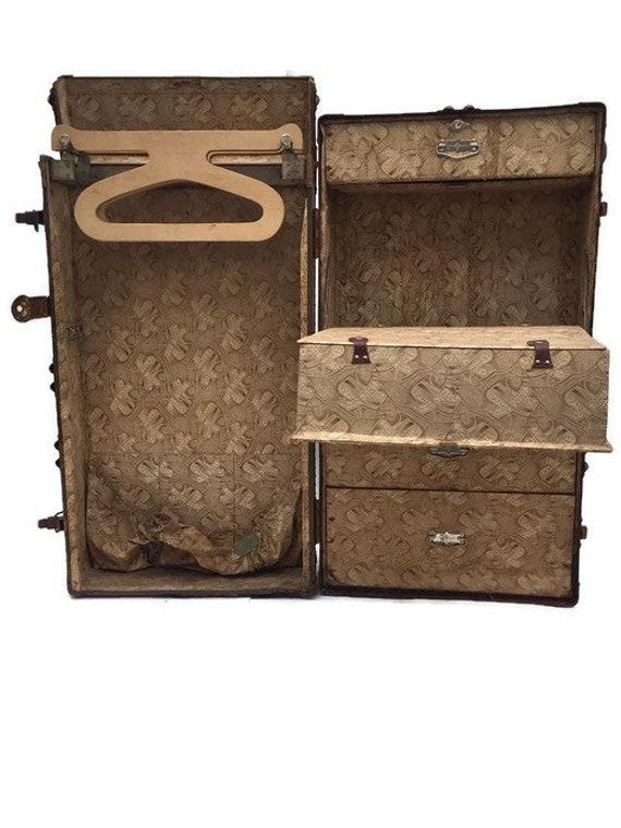 Steamer Trunk With Drawers.Antique Wardrobe Steamer Trunk Selfridges Of London Drawers Storage Vertex Trunk