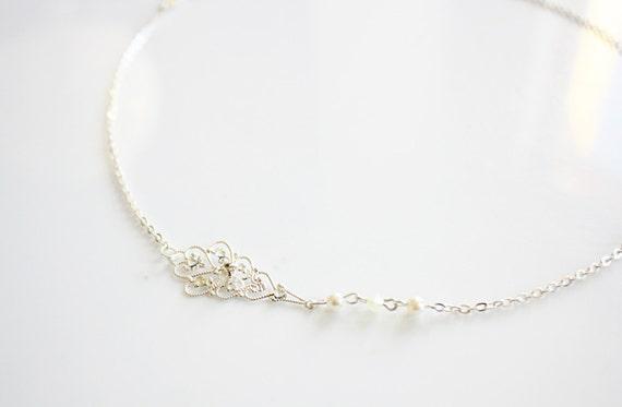 Art Deco gold bridal headchain,jewelry circlet Filigree pearl headband,rose flower gold chain hair jewelry,Forehead headband,headband Gatsby