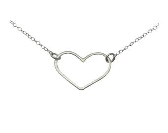 Valentine. Heart necklace.