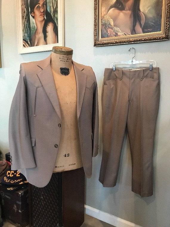 WESTERN SUIT Tregos Western Wear 2 Pc M 40 Pants 3