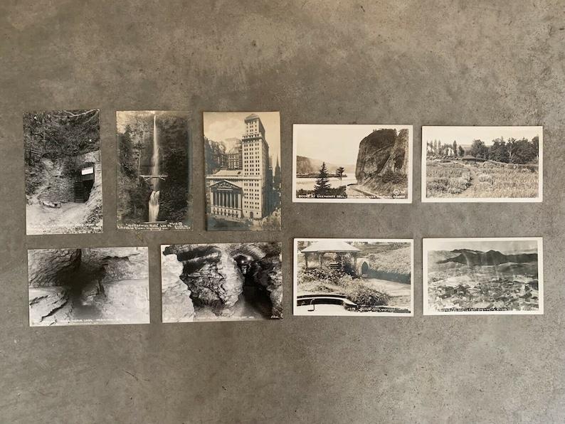 Stock Exchange Multnomah Portland Oregon Pacific Northwest Waterfall Mark Twain Vintage NATURE /& BUILDINGS Postcard Lot x9 Antique RPCC N.Y