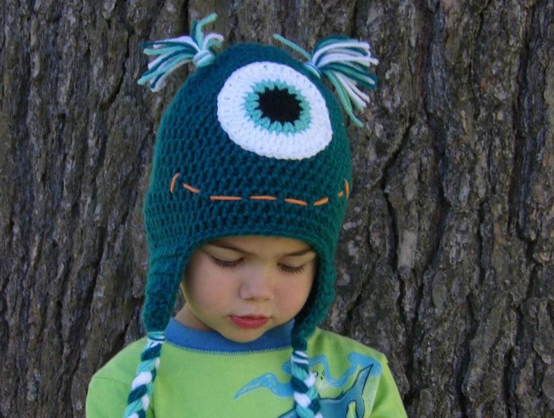 Monster Hat  One Eyed Monster Hat image 0
