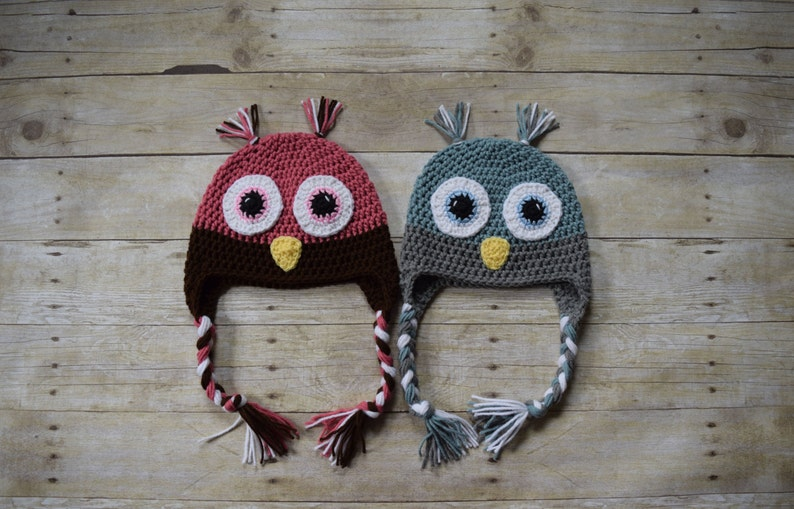 Owl Hat  Animal Hats  Bird Hat image 0