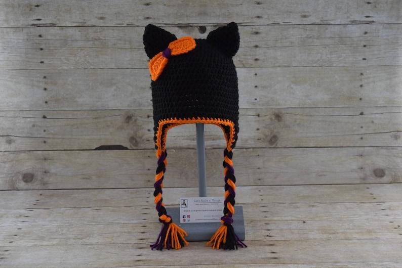 Halloween Kitty Cat Hat image 0