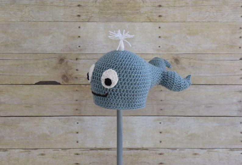 ef0e9663bd1 Whale Hat Ocean Animal Hat Fish Hat Photo Prop Baby