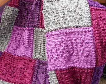 05d441692c5 FRIENDS pattern for crocheted blanket