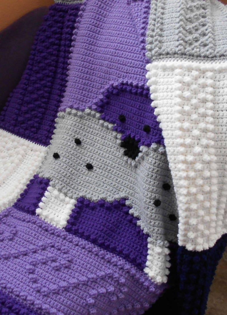 WALRUS pattern for crocheted blanket