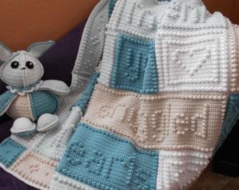 SNUGGLED pattern for crocheted blanket