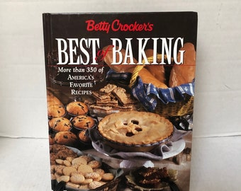 Vintage Betty Crocker Best of Baking  Breads, Cookies, Main and Side Dishes, Baking with Kids , Holidys