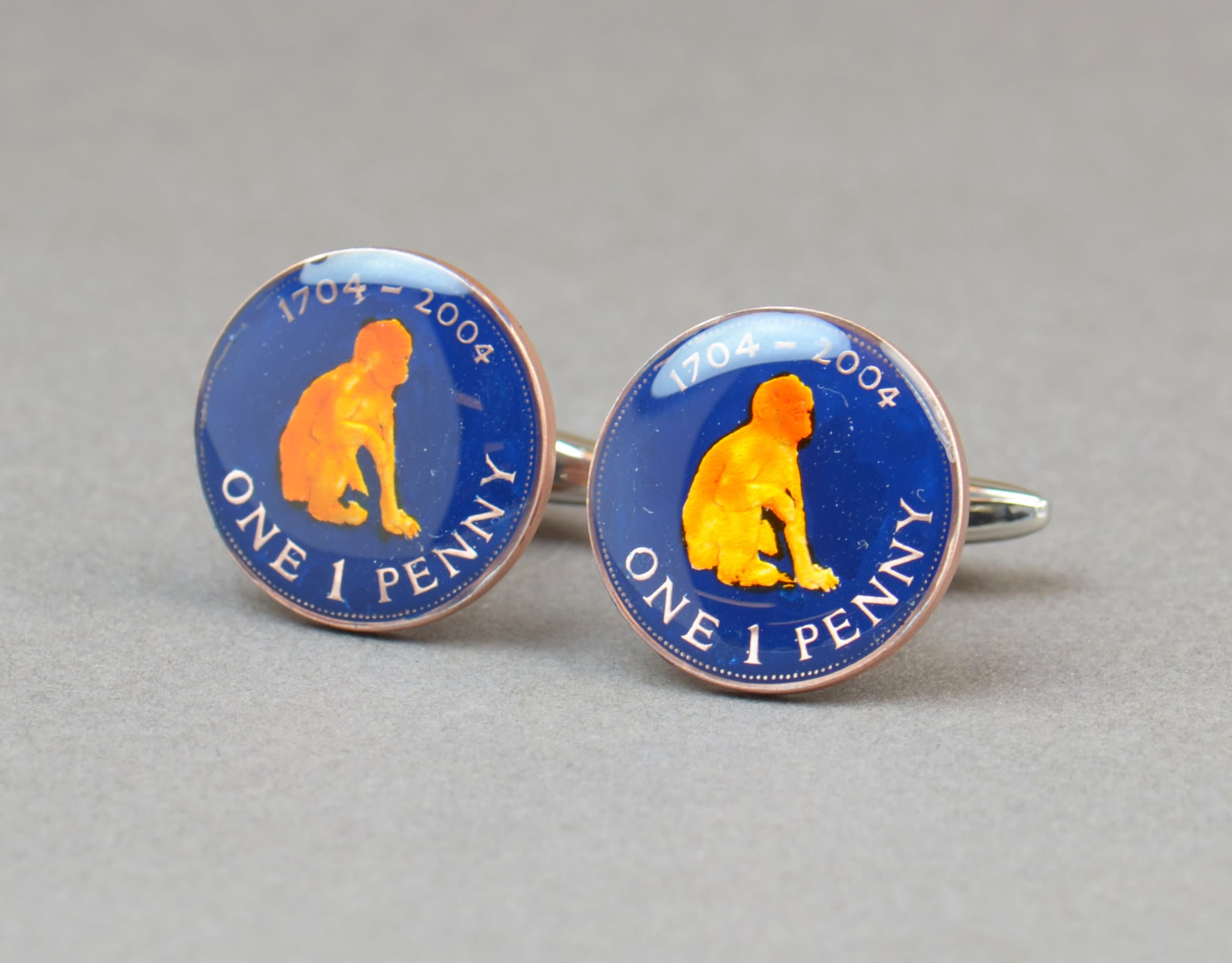 Cufflinks Germany Euro Coin Collector Gifts,Dad Coin Gift,Upcycled,mens gift accessories jewelry