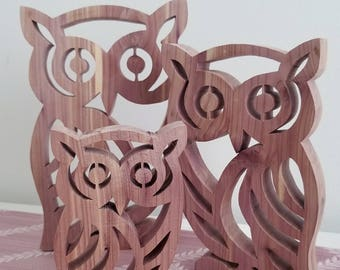 Scroll Saw Owl Etsy
