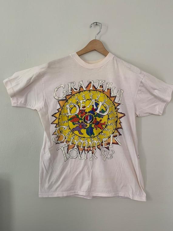 1993 Vintage Grateful Dead concert T-shirt