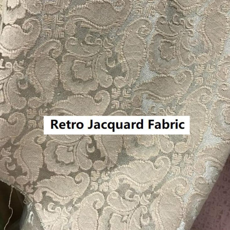 apricot color fabric relief butterfly fabric by the yard-AFXQ Bright champagne beige color fabric for jacket