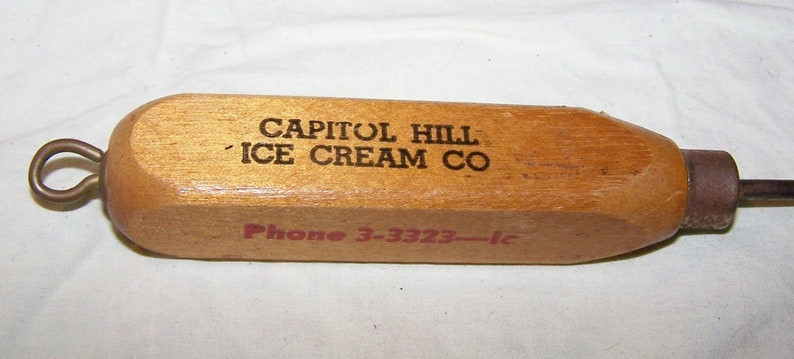 Advertising Ice Pick-Capitol Hill Ice Cream Co.