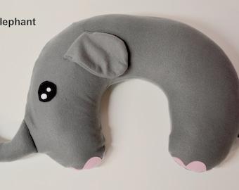 Zoo Animals Nursing Pillow Cover 5 option pack PDF pattern