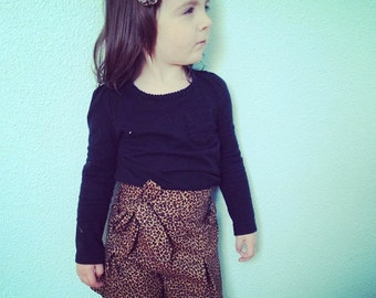Pleats & Thank You Shorts: Infant, Baby and Toddler 0/3 - 4T PDF pattern