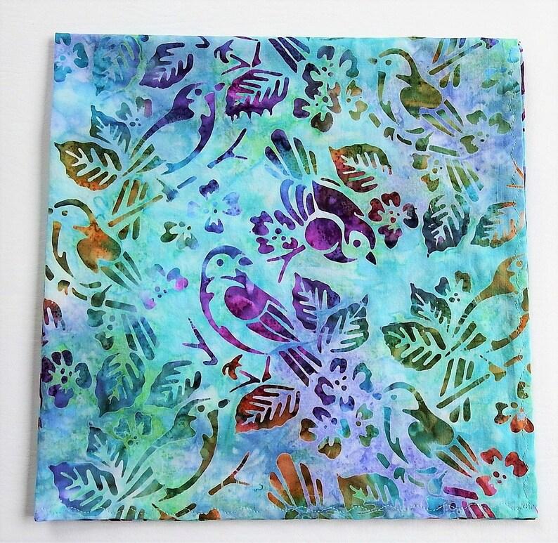 4731cbcf6ee Songbird Bandana 22 Handmade Batik Kerchief