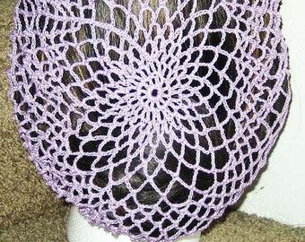 Vintage-style Pinup Snood Crochet PATTERN