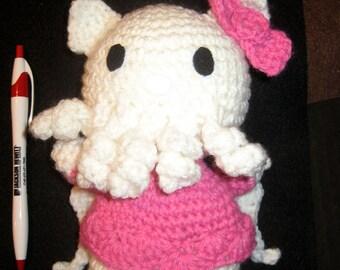 Hello K'tulu Crocheted Plush Amigurumi Toy