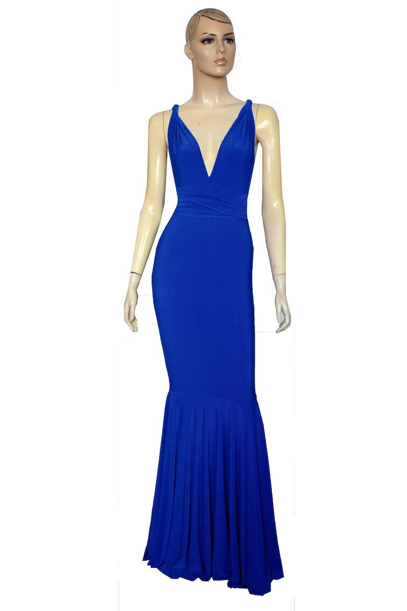 1a6a10280a46 Infinity damigella d onore abito Royal blu abito