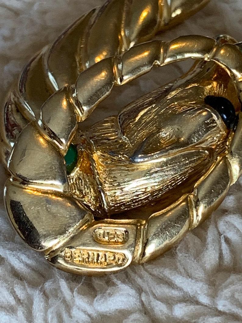 LES BERNARD Horse Head Faux Pearl Cabochon Necklace 3.22.2