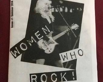 Women Who Rock! Zine