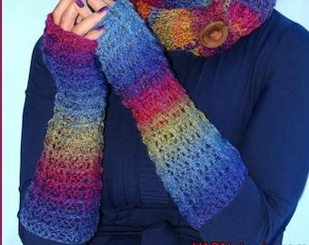 DIGITAL DOWNLOAD PDF Written Crochet Pattern for the Warm Waffles Hooded Cowl
