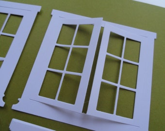 Grand Madison French Doors Die Cut Set of 8