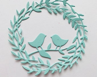 Die Cut Wreaths  Set of 8