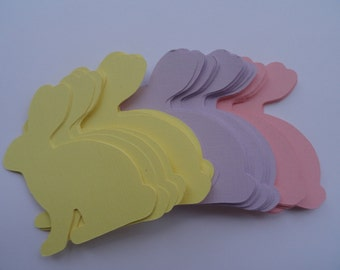 Easter Bunny Die Cuts Choose your Color