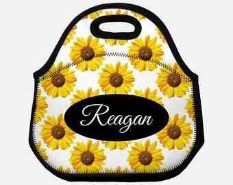 3b236f039031 Sunflower lunch bag | Etsy