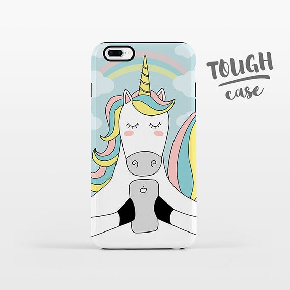 Unicorn iPhone Case iPhone X iPhone 8 Plus iPhone 7 Plus iPhone 6 Plus iPhone 6s iPhone SE iPhone 5 5s 5c 4 4s Rainbow Cute Phone Case TOUGH
