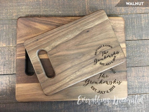 Gift Set HOME Cutting Board and Necklace