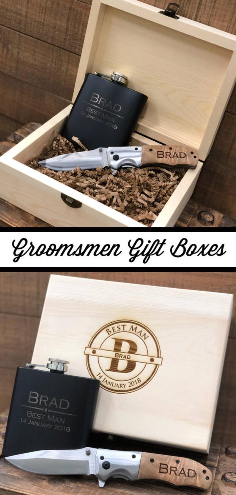 Groomsmen Gift Set Groomsman Gift Box Groomsmen Gift Box Unique Groomsmen Gifts Creative Groomsmen Gifts Groomsmen Gifts Ideas Wedding