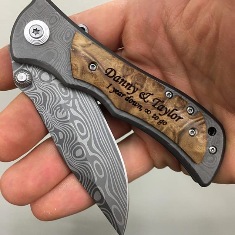 Knife Wedding Gift Unique Wedding Gift Ideas Personalized Etsy
