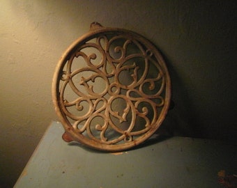 Cream Cast Iron Trivet