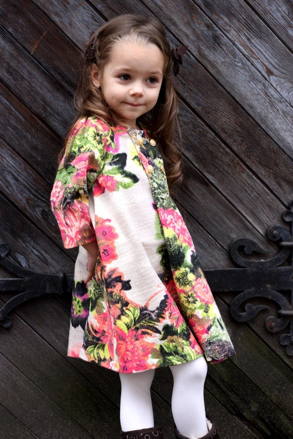67bb9594221e Girls flower dress autumn winter special occasion ny christmas
