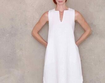 97098096fb Shift dress pattern linen dress pattern PDF sewing patterns