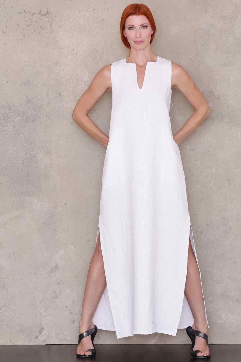 da97ed29da Caftan maxi dress summer linen dress pattern PDF sewing